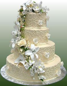 Pasteles de boda para una fiesta en la playa   Bodas
