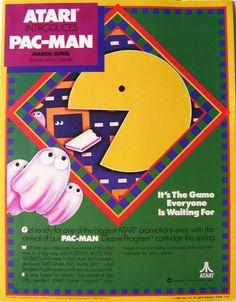 Magazine ad for Pac-Man (Atari Classic Video Games, Retro Video Games, Man Games, Games To Play, Retro Videos, Some Games, Vintage Games, Video Game Console, Arcade Games