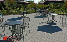 Double/Half Standard Pattern Paver Patterns, Outdoor Tables, Outdoor Decor, House Landscape, Outdoor Furniture Sets, New Homes, Patio, Gallery, Landscaping