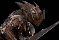 The Lord of the Rings: The Fellowship of the Ring - Moria Orc Swordsman Figure by Roger Lewis Weta Workshop