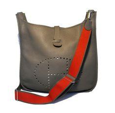 Hermes Evelyn Iii Tgm Clemence Shoulder Bag $4,530