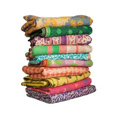 Embroidered Kantha Throw : Gret price for under 60