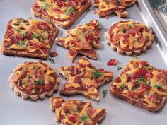Cheese and Sun-Dried Tomato Canapes