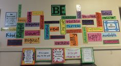 bulletin board for middle school classroom