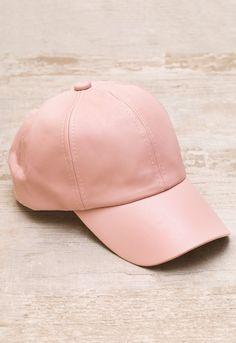 Alabama Shakes Pleather Hat - Blush. Pink Baseball CapBack ... d6ab00943af8