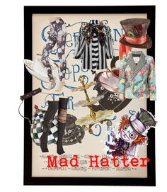 """""""Mad Hatter"""" by lovestruckdreamer ❤ liked on Polyvore featuring Royal Albert, Wedgwood, Givenchy, MacKenzie-Childs, Rosenthal, Moschino, Disney, Hue, women's clothing and women"""