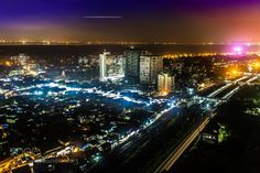 Mumbai Nightscape by AnshumanKumar check out more here https://cleaningexec.com