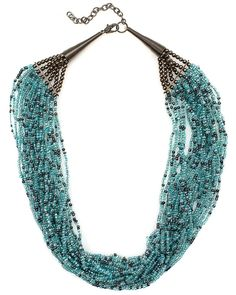 multi strand african bead necklaces   Home > Accessories > Necklaces > Multi Strand Bead Necklace