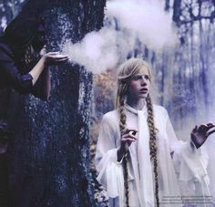 #magical #ritual #forest