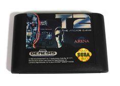 Items similar to Sega Genesis The Arcade Game Vtg Video Game Cartridge + Case: Terminator Retro Game, Movie Game, Arnold, Sci Fi, Cyborgs on Etsy Sega Genesis, Arcade Games, My Etsy Shop, Retro, Handmade Gifts, Kid Craft Gifts, Craft Gifts, Diy Gifts, Retro Illustration