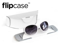 Aw - I wish I saw this earlier! FLIPCASE: A Collapsible Sunglass Case by Alison W., via Kickstarter.