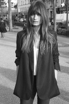 Caroline de Maigret in Equipment's Fall 2015 Lookbook