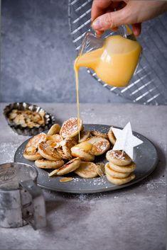 Mini Dutch Pancakes, Veggie Recipes, Veggie Food, Food Porn, Biscuits, Cookies, Panna Cotta, Veggies, Food And Drink