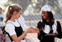 Alicia Silverstone and Stacey Dash as Cher and Dionne in Clueless