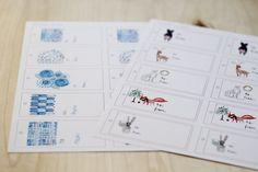 Free holiday printables | Sanae Ishida