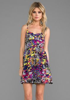 AMANDA UPRICHARD Champagne Dress in Digital Leopard - New