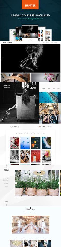 Shutter - Photography WP Theme. WordPress Photography Themes