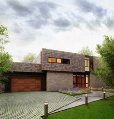 crunchylipstick: Center Road Residence by Labhaus (via homeadore.com)