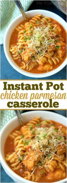 How we're connecting at dinnertime with Instant Pot chicken parmesan casserole! … How we're connecting at dinnertime with Instant Pot chicken parmesan casserole! The classic dish you love cooked in just 10 minutes in your pressure cooker! Instant Pot Pressure Cooker, Pressure Cooker Recipes, Pressure Cooking, Instant Cooker, Chicken Parmesan Casserole, Chicken Pasta, Ip Chicken, Chicken Parmesean, Chicken Parm Soup Recipe