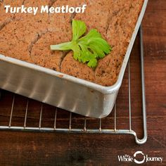 This hearty gluten-free Turkey Meatloaf is our most popular one-tray meal! In addition to protein, turkey is also rich in all B vitamins including B1, B2, B3, B5, B6, B12, folate, biotin, and choline. All of which are needed for healthy cellular energy production and nervous system function.  My favorite part is having this for leftovers throughout the week! #thewholejourney #twj #glutenfree