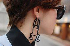 Keith Haring Earrings