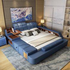 傳統大床已過時,今年流行的是榻榻米床,多功能讓你大開眼界,太舒適漂亮了! - 愛經驗