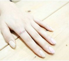 16+ Trendy wedding rings tattoo delicate