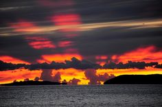 Sunset, Podstrana, Croatia