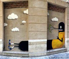 #street art in #malaga #Spain  #holiday #travel  #vacation #España