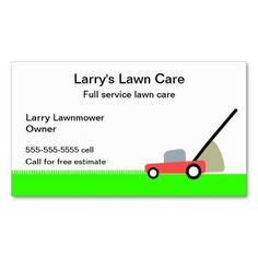 Lawn care services business card pinterest lawn care business lawn care service business card reheart Choice Image