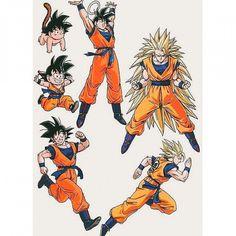 Goku from the Dragon Ball Z Anime Dragon Ball Gt, Akira, Anime Echii, Anime Comics, Manga Dragon, Goku Manga, D Mark, Super Anime, Son Goku