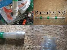 Foto: BarraPet versão 3.0 - Ideia que visa o encaixe das barras aos nós por meio…