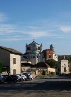 Shrine of St. John Vianney, Ars-sur-Formans on Sacred Destinations.