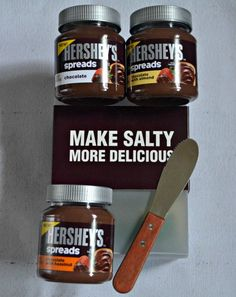 Hershey's Spreads Make Salty More Delicious #spreadpossibilities