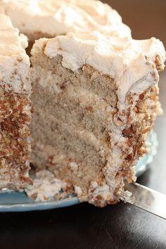 Pia Recipe, Louisiana Crunch Cake, Cake Recipes, Dessert Recipes, Recipes Dinner, Banana Recipes, Banana Crunch Cake Recipe, Banana Cupcakes, Picnic Recipes