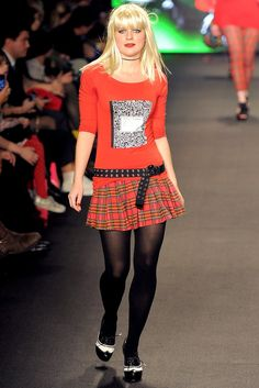See the complete Betsey Johnson Fall 2011 Ready-to-Wear collection.