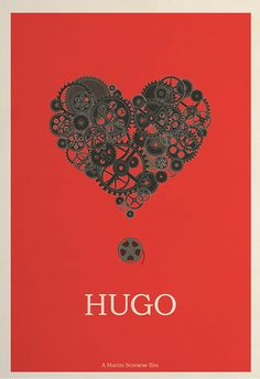 Limited edition Hugo poster by Hunter Langston  $50.00