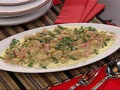Ñoquis de Arracacha con salsa de crema de queso