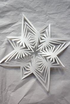 twelve free printable snowflake templates to fold and cut into beautiful paper snowflakes diy. Black Bedroom Furniture Sets. Home Design Ideas