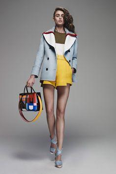 Fendi Pre Spring Summer 2016 Women's fashion color trends