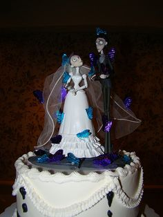 Stunning Corpse Bride Wedding Cake Topper Images - Styles & Ideas ...