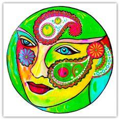 Intuitive Mandala # 17 - Shelley Klammer