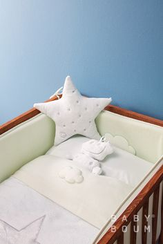 *MILKY WAY Mix&Match by Baby Boum* Visit us on www.babyboum.be *STARY + CADUM* #baby #fashion #design #nursery #bed