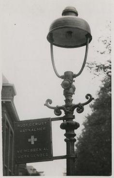 bordje van de ggd den haag 1940