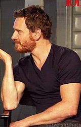 AND WITH A BEARD   Community Post: Michael Fassbender Is The King Of Attractiveness