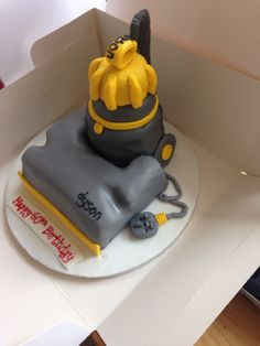 Dyson Vacuum cake