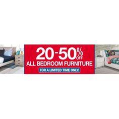 All Bedroom Furniture @ Target Furniture NZ 20 50% Off   Bargain Bro