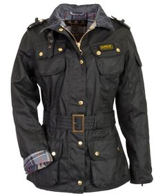 classic, keeper for life : barbour ladies international motorcycle jacket Wax Jackets, Jackets For Women, Clothes For Women, How To Have Style, Style Me, Barbour Jacket Women, Barbour International Jacket, Country Attire, Country Style