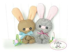Baby Bunny PDF Pattern-Easter Bunny sewing by LittleThingsToShare