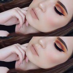Hermosos ojos con Makeup Geek. #Ojos #Sombras